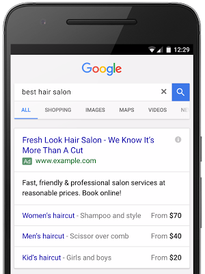 google-prijs-extensies